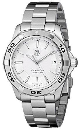 plata wap1111.ba0831 tag heuer aquaracer hombre reloj con