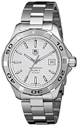 plata wap2011ba0830 tag heuer aquaracer hombre reloj con es