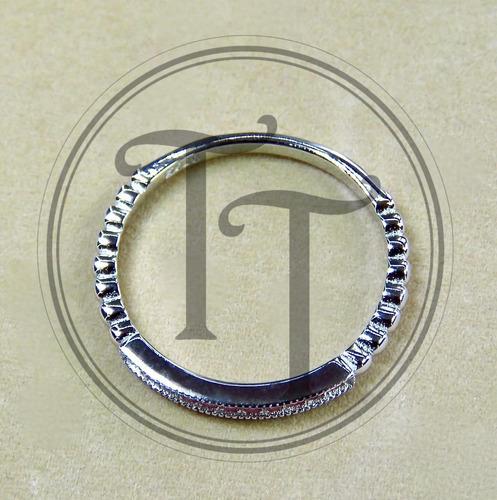 plata zafiros anillo