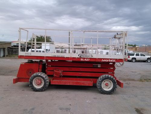 plataforma 30' 4x4 snorkel elevador generador a bordo