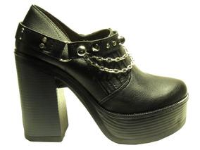 36e8f62cf Zapatos Plataforma Con Estribos Texanas - Ropa y Accesorios en ...