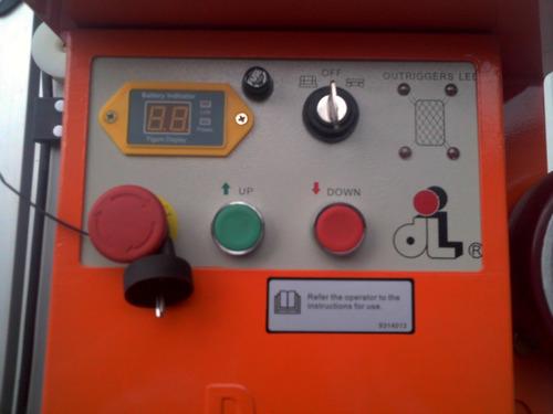 plataforma andamio electrico dingli autoelevador
