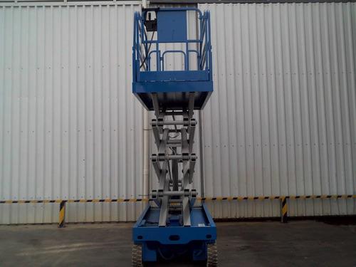 plataforma andamio electrico genie autoelevador montacarga