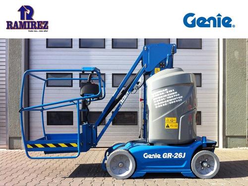 plataforma andamio electrico genie gr26j venta y alquiler