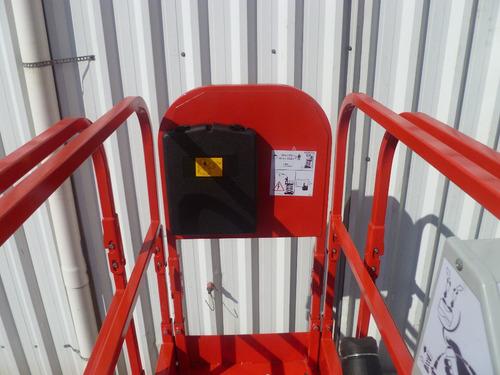 plataforma andamio electrico hangcha 7,80m autoelevador