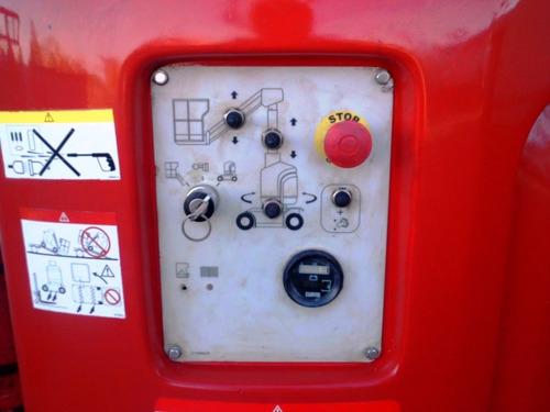 plataforma andamio electrico manitou 105vjr venta y alquiler