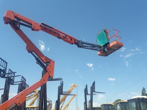 plataforma articulada dingli gtbz16a de 16 metros
