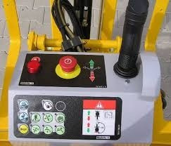 plataforma, articulada elevación, brazo haulotte eléctrico