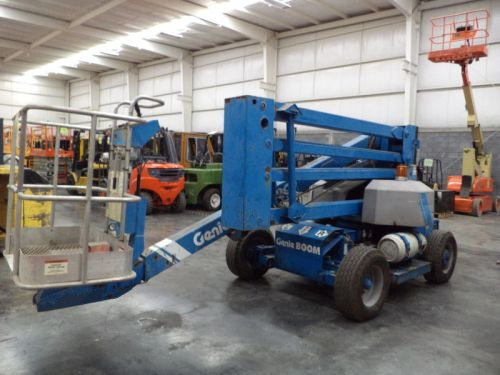 plataforma articulada genie 500 lb dual gasolina/lp  z-45/22