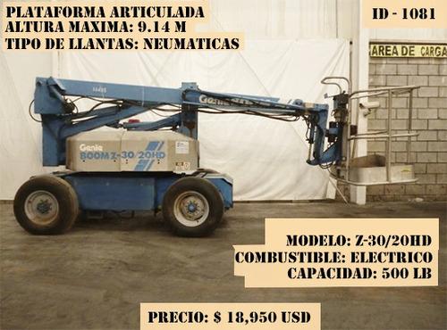 plataforma articulada genie 500 lb electrico  z-30/20h