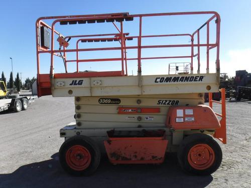 plataforma ascensor elevador tijera jlg 3363-e folio 10837