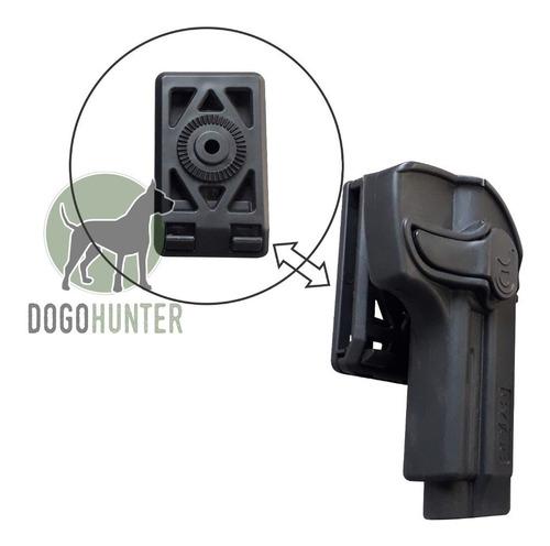 plataforma belt clip para pistoleras nivel 2 pasa cinto