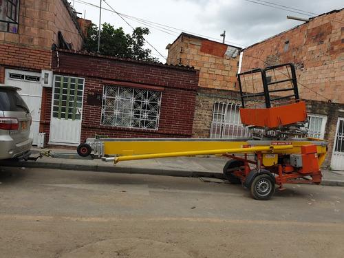 plataforma de elevación con canasta para 21 metros