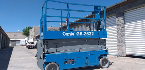 plataforma de elevación genie gs-2632 tipo tijera
