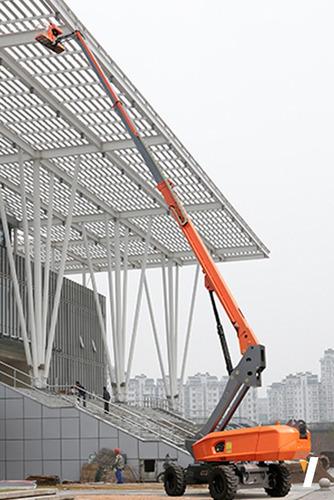 plataforma de elevación telescópica dingli altura max 28 m