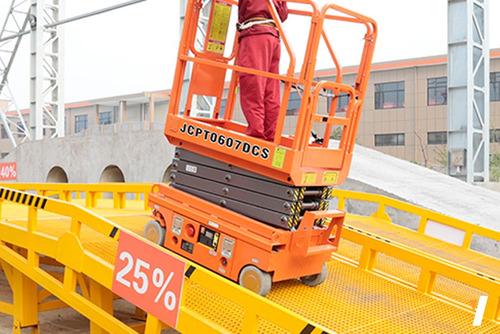 plataforma de elevación tijera dingli altura maxima 3.90 m