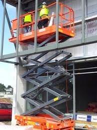 plataforma de elevación tijera eléctrica. nueva 0km alt 11.7