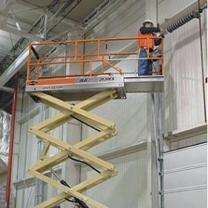 plataforma de elevación tipo tijera - alquiler