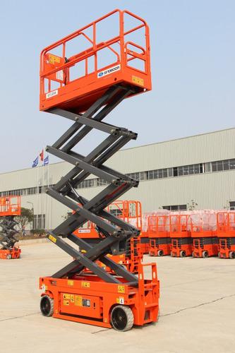 plataforma de elevación tipo tijera sinoboom gtjz0808 10mts