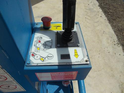 plataforma de elevacion up right tm 12 electrica personal
