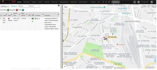 plataforma de monitoreo - conectividad - equipos gps