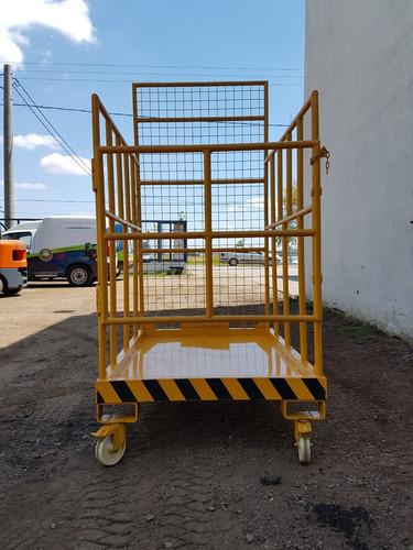 plataforma de seguridad para autoelevador
