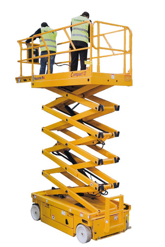 plataforma de tijera eléctrica 12 mts haulotte venta o renta