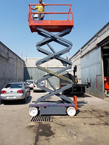 plataforma eléctrica skyjack