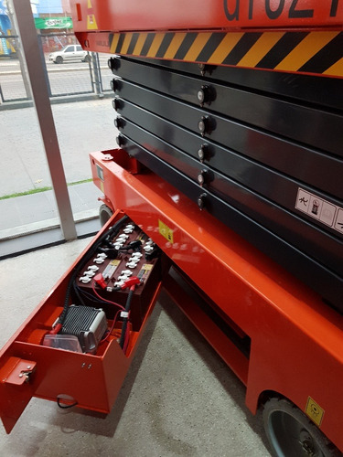 plataforma electrica tipo tijera 10mts 0hs nuevo niuli