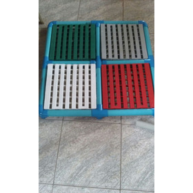 Plataforma Elevação Piscina 95x95x50cm 2x2=4mod50cm