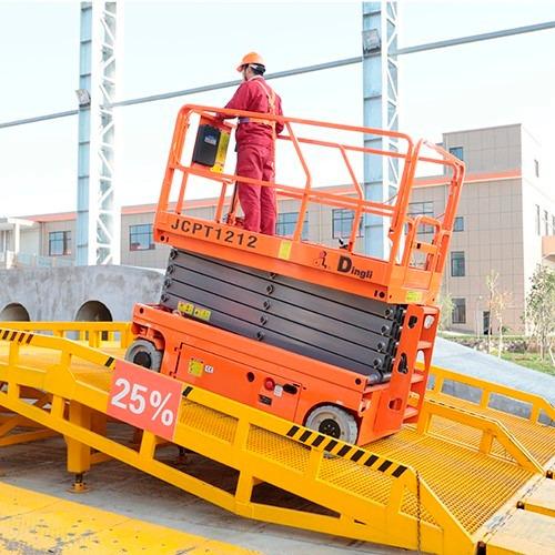 plataforma elevación alzahombre 12 m dingli motorman m4q