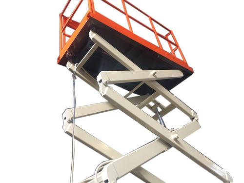 plataforma elevación de tijera eléctrica elevador 250 kilos