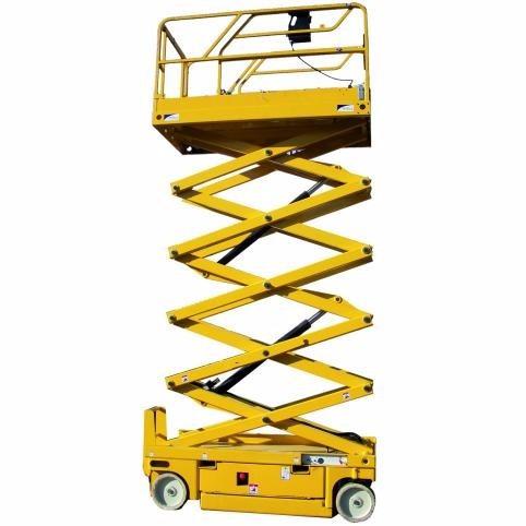 plataforma elevación haulotte optimum, homologada, tijera