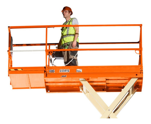 plataforma elevación tijera andamio diésel y eléctricos