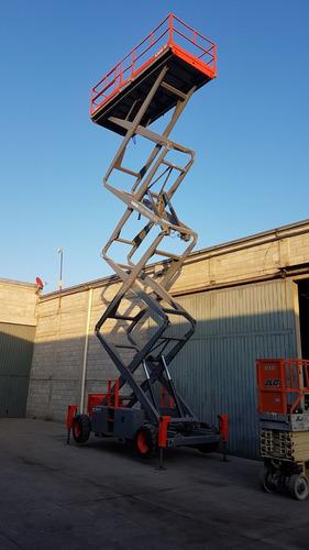plataforma elevadora de tijera skyjack sj92050rt