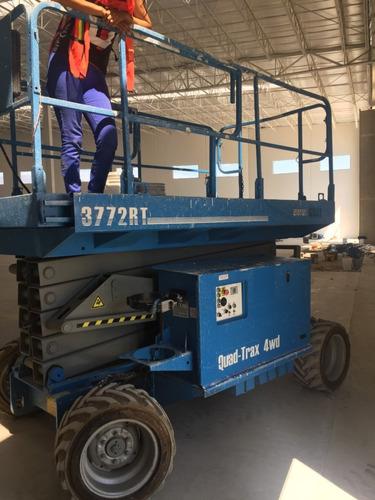 plataforma elevadora scisorlift mec 3772rt genie jlg