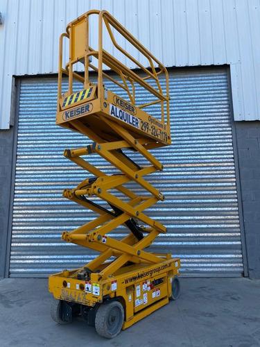 plataforma elevadora tijera 10m haulotte jlg genie manitou