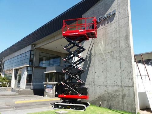 plataforma elevadora tijera  alo lift  100w bb 10mt.alt trab