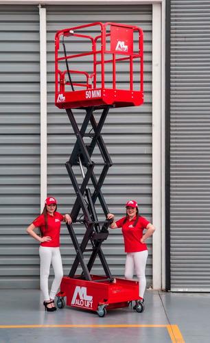 plataforma elevadora tijera alo lift  5 mts alt. de trabajo
