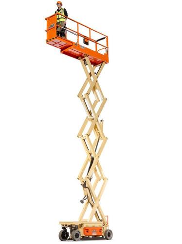 plataforma elevadora tijera jlg  10 metros altura de trabajo