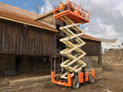 plataforma elevadora tijera  jlg 16 mts  diesel  4 x 4