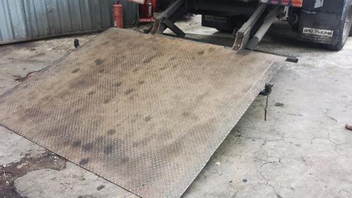plataforma elevatoria bau 3/4 toco truck fazemos instalação