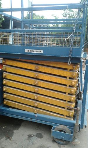 plataforma elevatória tipo tesoura
