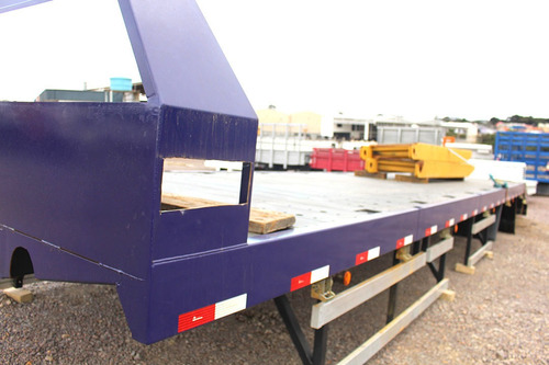 plataforma fixa 11,7m  14'  rampa hidráulica pronta para uso