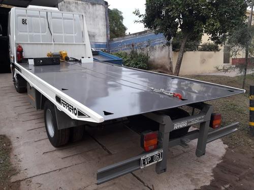 plataforma hidráulica para auxilios - camillas