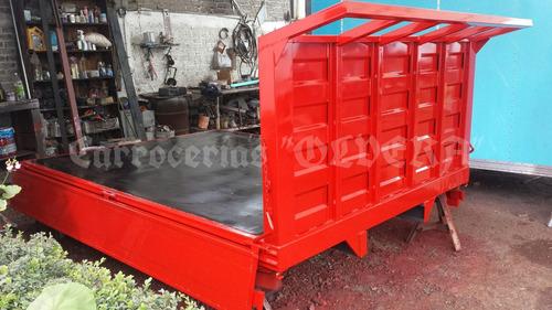 plataforma materealista para camioneta de 3 1/2 toneladas