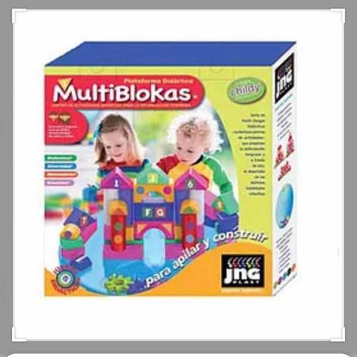 plataforma mesa multiblokas encastre jng july toys