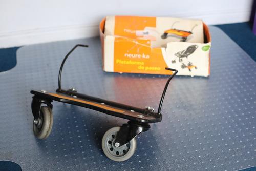 plataforma neure-ka de coche de bebe para llevar hermano