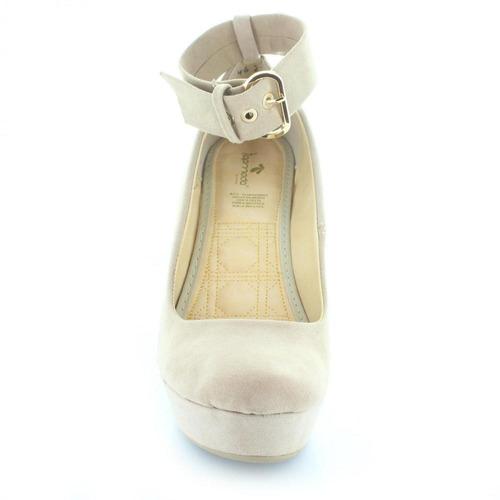plataforma para mujer top moda 4629-035973 color beige