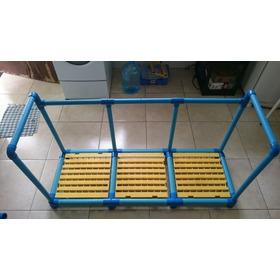 Plataforma Piscina 140x50x50cm - 3mod50cm Com Limitador